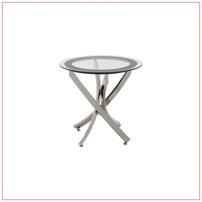 Griffin End Tables - LV Exhibit Rentals in Las Vegas