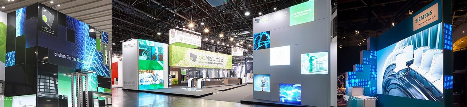 beMatrix LEDskin Rentals from LV Exhibit Rentals in Las Vegas