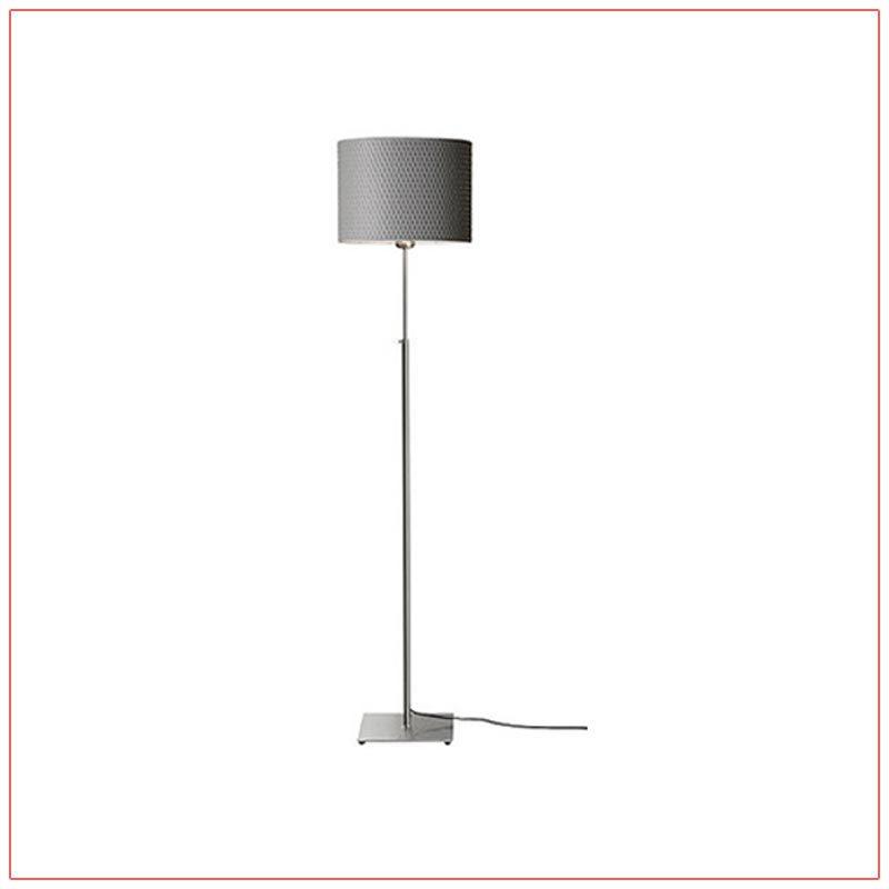 Lang Adjustable Floor Lamps - Gray - LV Exhibit Rentals in Las Vegas