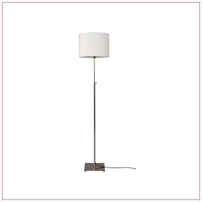 Lang Adjustable Floor Lamps - White - LV Exhibit Rentals in Las Vegas
