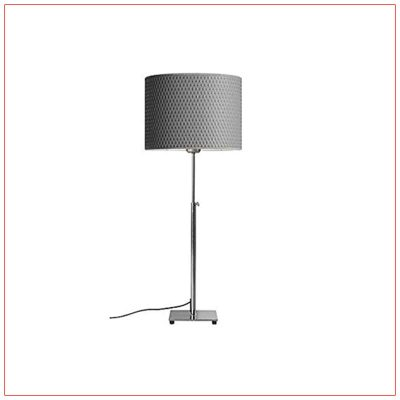 Lang Adjustable Table Lamps - Gray - LV Exhibit Rentals in Las Vegas