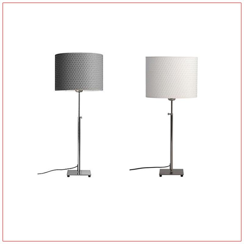 Lang Adjustable Table Lamps - LV Exhibit Rentals in Las Vegas