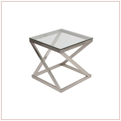 Metro End Tables - LV Exhibit Rentals in Las Vegas