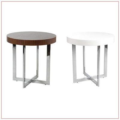Oliver End Tables - LV Exhibit Rentals in Las Vegas