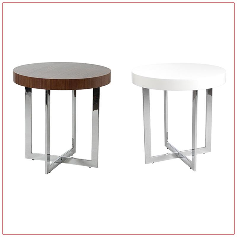 Oliver End Tables - LV Exhibit Rentals in Las Vegas