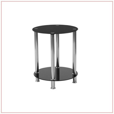 River End Tables - LV Exhibit Rentals in Las Vegas