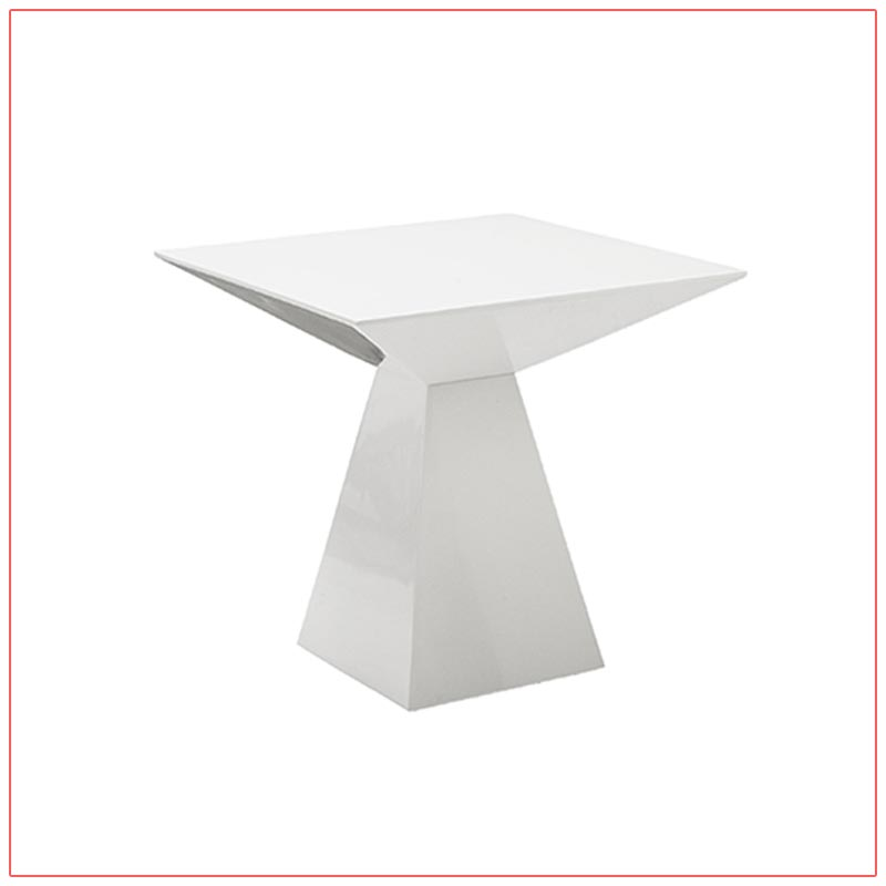 Tad End Tables - LV Exhibit Rentals in Las Vegas