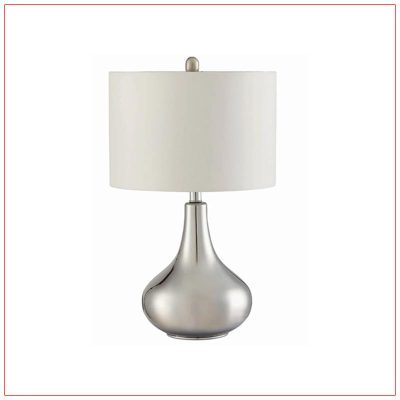 Teardrop Table Lamps - LV Exhibit Rentals in Las Vegas