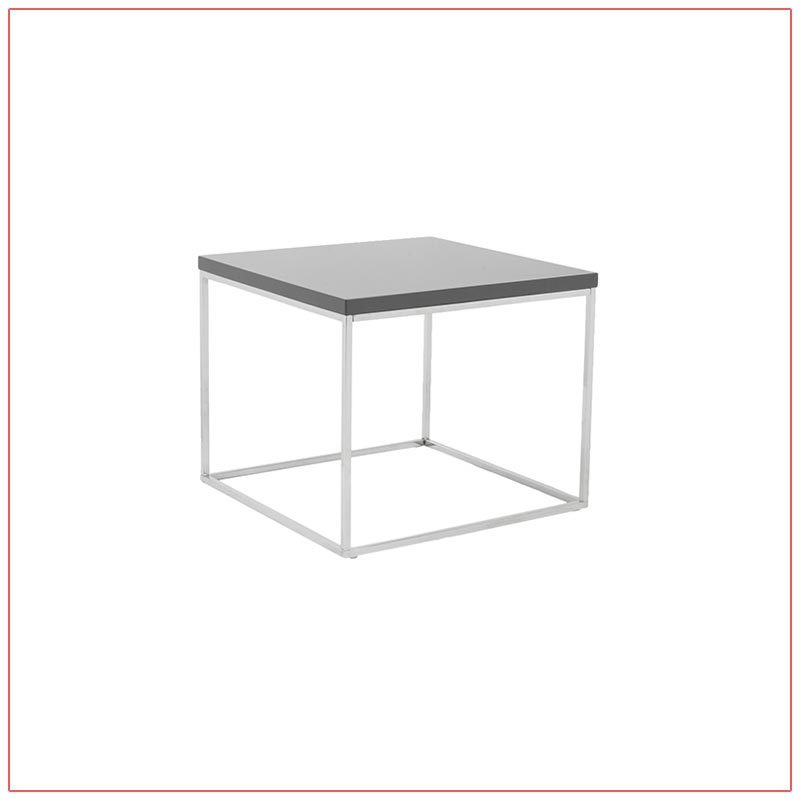 Teresa End Tables - Gray - LV Exhibit Rentals in Las Vegas