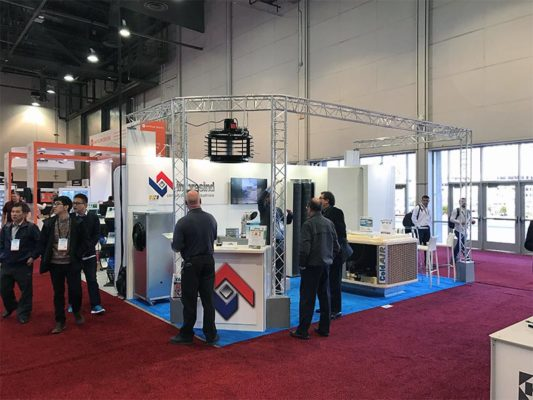 10x20 Trade Show Booth Rental Package 211 - Impresind - LV Exhibit Rentals in Las Vegas