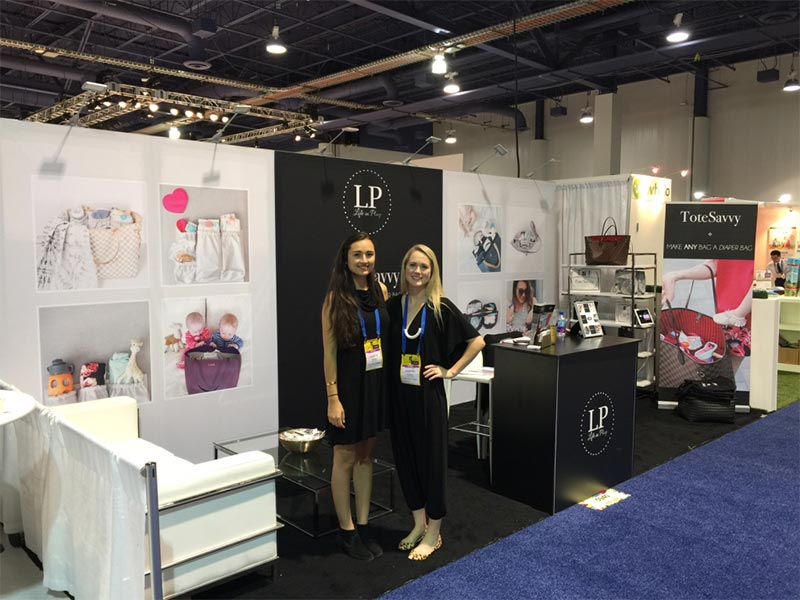 10x20 Trade Show Booth Rental Package 228 Variation - Life in Play - LV Exhibit Rentals in Las Vegas