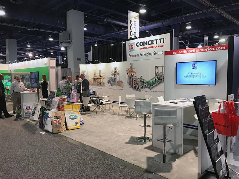 10x30 Trade Show Booth Rental Package 300 - LV Exhibit Rentals in Las Vegas