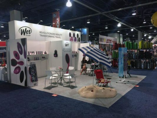 20x20 Trade Show Booth Rental Package 400 - LV Exhibit Rentals in Las Vegas