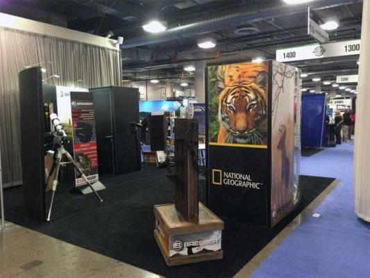 20x20 Trade Show Booth Rental Package 445 - LV Exhibit Rentals in Las Vegas