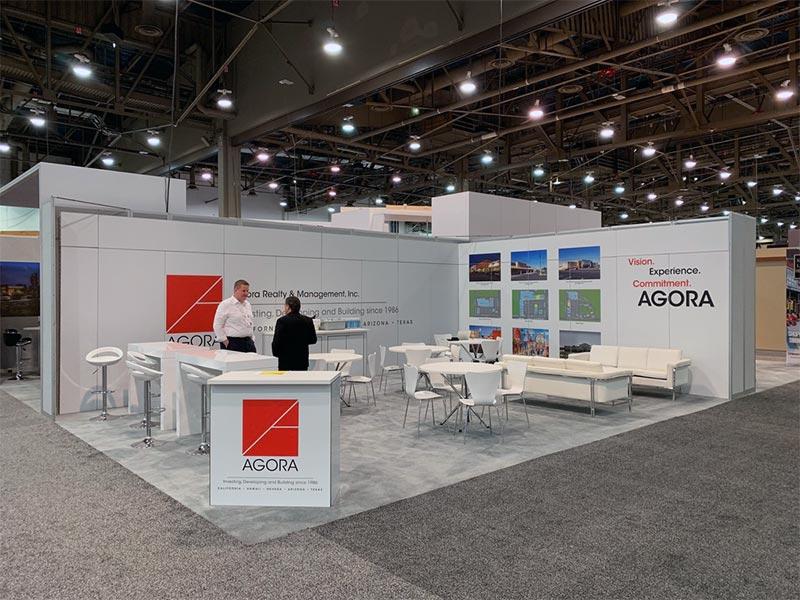 20x30 Trade Show Booth Rental Package 503 - LV Exhibit Rentals in Las Vegas