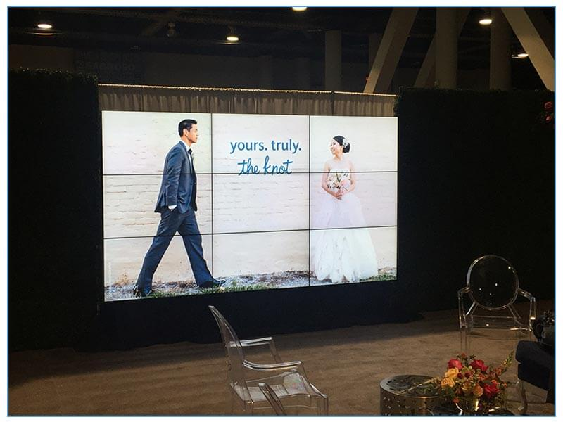 3x3 Video Wall Rentals - LV Exhibit Rentals in Las Vegas