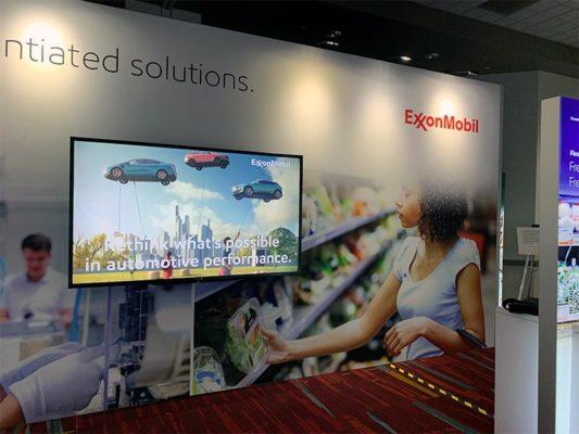 90in LED Display Rental - LV Exhibit Rentals in Las Vegas