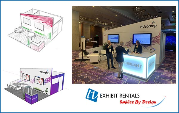 Concept to Creation - 20x20 Video Amp - CES 2019 - LV Exhibit Rentals in Las Vegas