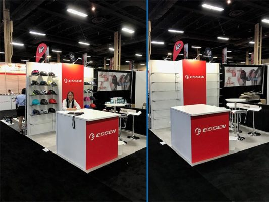 Essen - 10x10 Trade Show Booth Rental Package 104 - LV Exhibit Rentals in Las Vegas
