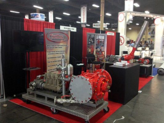Firedos - 10x10 Trade Show Booth Rentals from LV Exhibit Rentals in Las Vegas