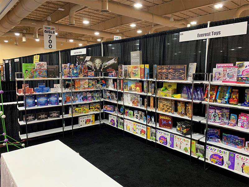 Gilbert Shelves - White - LV Exhibit Rentals in Las Vegas