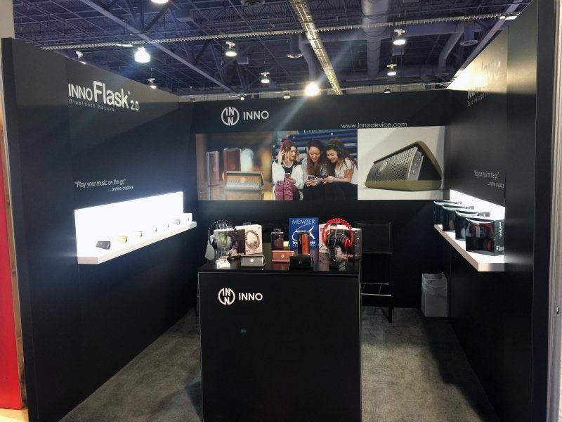Inno Design - 10x10 Trade Show Booth Rental Package 122 Variation - LV Exhibit Rentals in Las Vegas