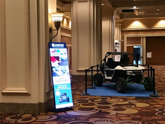 LED Digital Signage Rental - LV Exhibit Rentals in Las Vegas