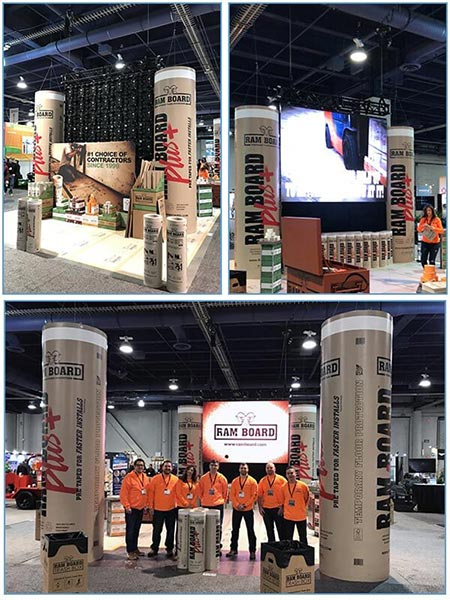 LED Tile Video Wall Rental - Ramboard - LV Exhibit Rentals in Las Vegas