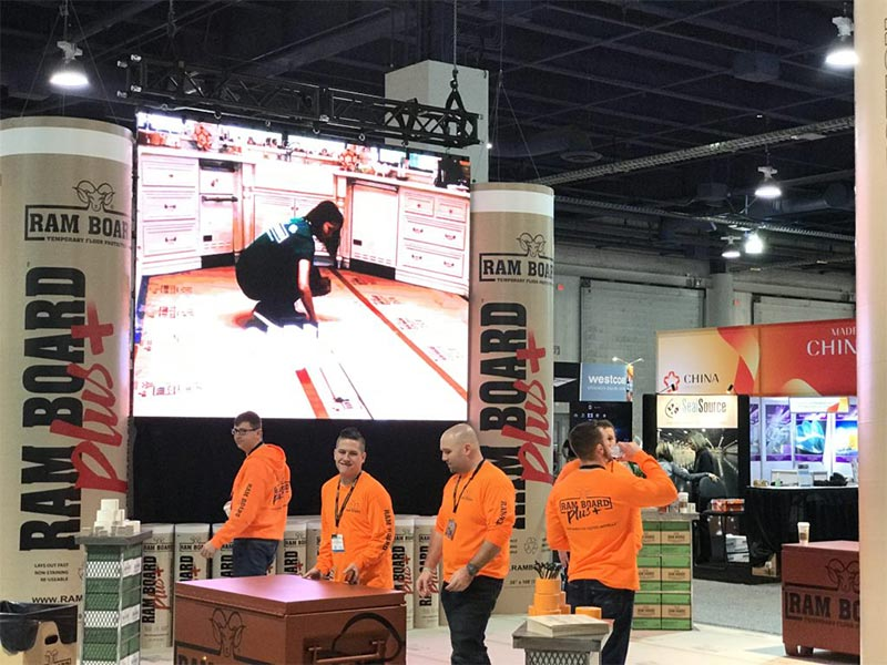 LED Video Wall - Flying Mounted - LV Exhibit Rentals in Las Vegas