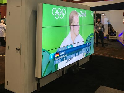 LED Video Wall Rentals - Ground Support - LV Exhibit Rentals in Las Vegas