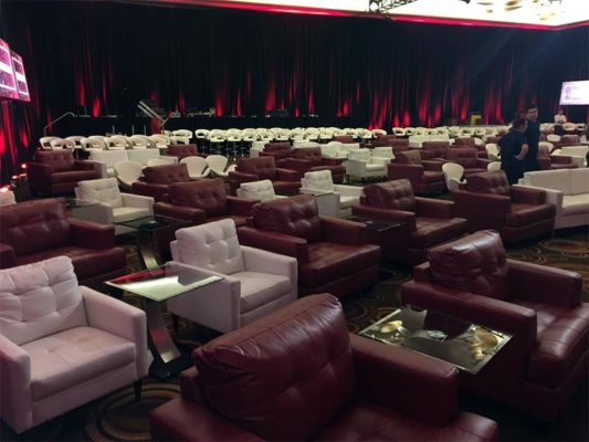 Lounge Seating Rentals for Corporate Events - LV Exhibit Rentals in Las Vegas