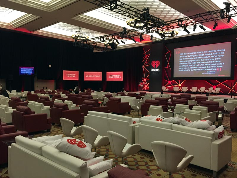 Lounge Seating Rentals for Corporate Events from LV Exhibit Rentals in Las Vegas