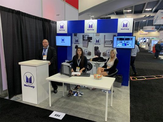 Mactronix - 10x10 Trade Show Booth Rental Package 101 - LV Exhibit Rentals in Las Vegas