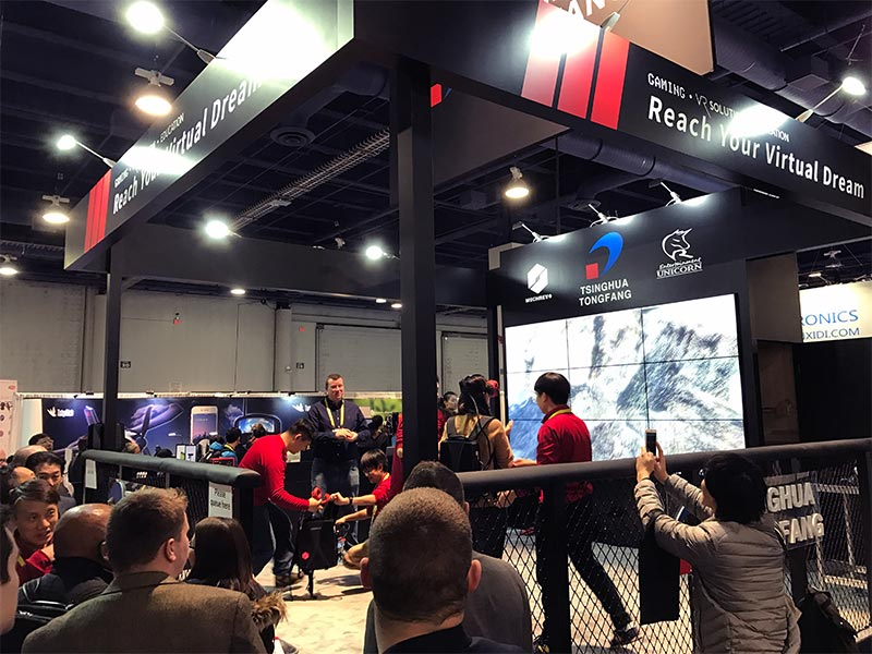 Nearly Seamless Video Wall Rentals - LV Exhibit Rentals in Las Vegas