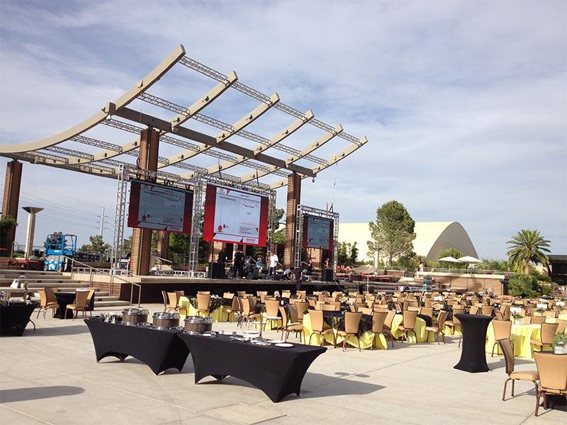 Outdoor LED Video Wall Rental - LV Exhibit Rentals in Las Vegas