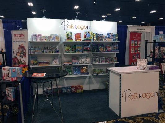 Parragon - 10x10 Trade Show Booth Rental Package 105 Variation - LV Exhibit Rentals in Las Vegas