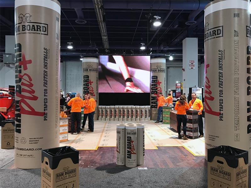 Seamless LED Video Wall Rental - LV Exhibit Rentals in Las Vegas
