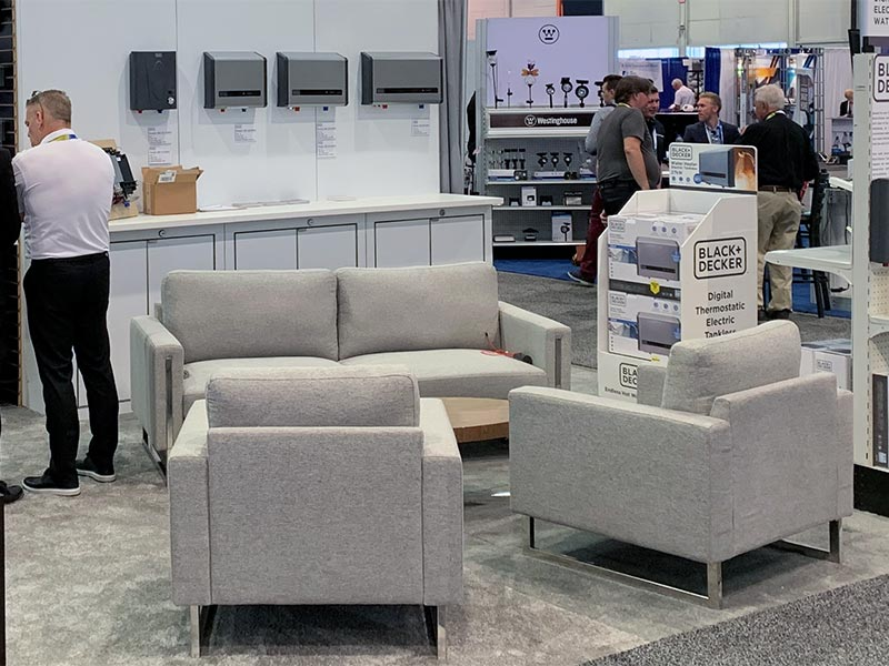 Stella Sofa and Lounge Chairs - LV Exhibit Rentals in Las Vegas