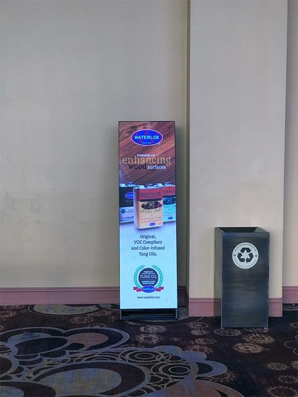 Trade Show Digital Signage Rental - LV Exhibit Rentals in Las Vegas