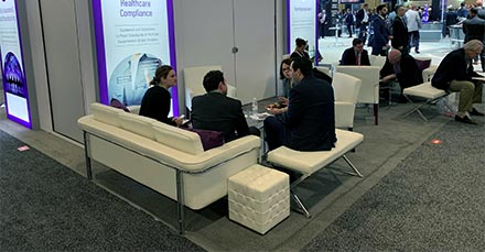 Trade Show Furniture Tips - Lounge Seeating - LV Exhibit Rentals in Las Vegas