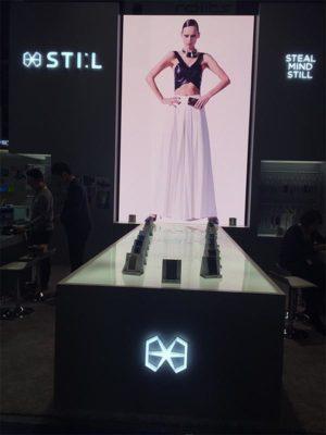 Vertical LED Video Wall Rental - LV Exhibit Rentals in Las Vegas