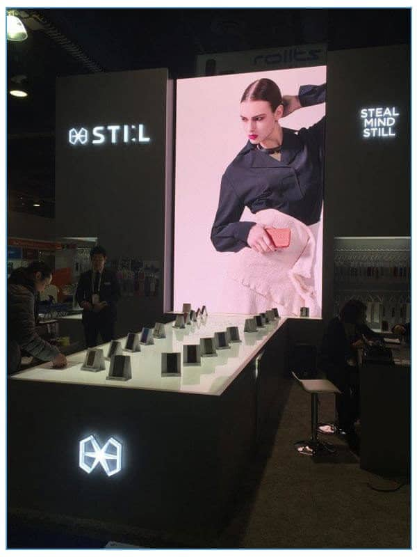 Vertical Video Wall Rentals - LV Exhibit Rentals in Las Vegas