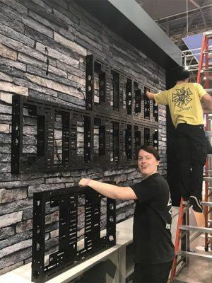Video Wall Rental - Installation - LV Exhibit Rentals in Las Vegas