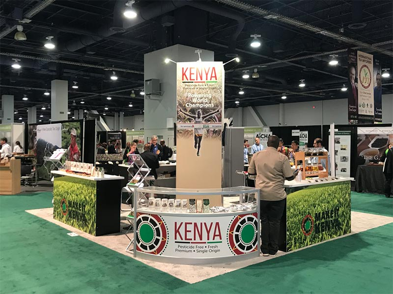 Product Display Counter Rentals for Trade Shows - LV Exhibit Rentals in Las Vegas