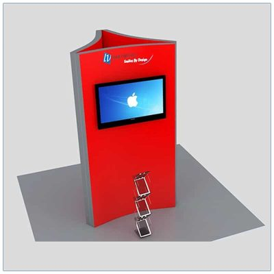 Trade Show Kiosk Rental Package K3 - LV Exhibit Rentals in Las Vegas