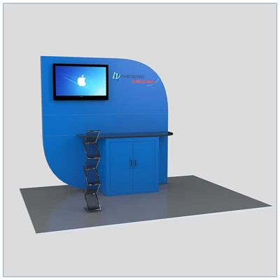 Trade Show Kiosk Rental Package K4 - LV Exhibit Rentals in Las Vegas