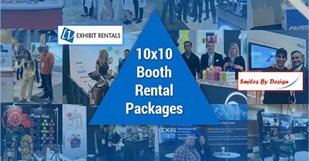 Ultimate Guide to 10x10 Trade Show Booth Rentals - LV Exhibit Rentals in Las Vegas