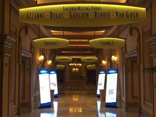 Digital Signage Displays - LV Exhibit Rentals in Las Vegas