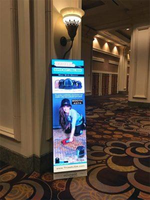 Digital Signage Rental - Close up - LV Exhibit Rentals in Las Vegas