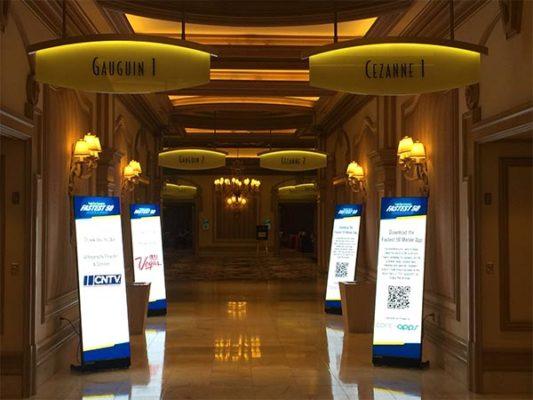 LED Poster Rental - LV Exhibit Rentals in Las Vegas